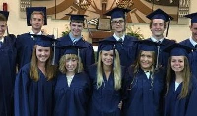 May 27th: Baccalaureate Mass, Graduation, and Reception